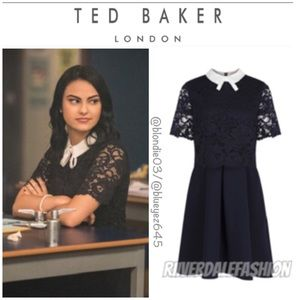 """Ted Baker """"Dixxy"""" Lace Dress 4 (US 10)"""